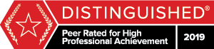 Martindale-Hubbell Distinguished Peer Rating 2019